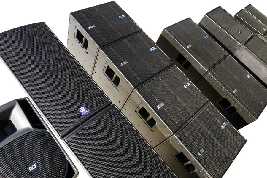 Speaker inventory from Durham Events