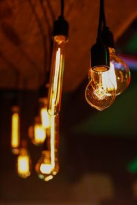 Pretty Light Bulbs, Event Lighting Solutions, Retro lighting, festoon lighting, old school lighting