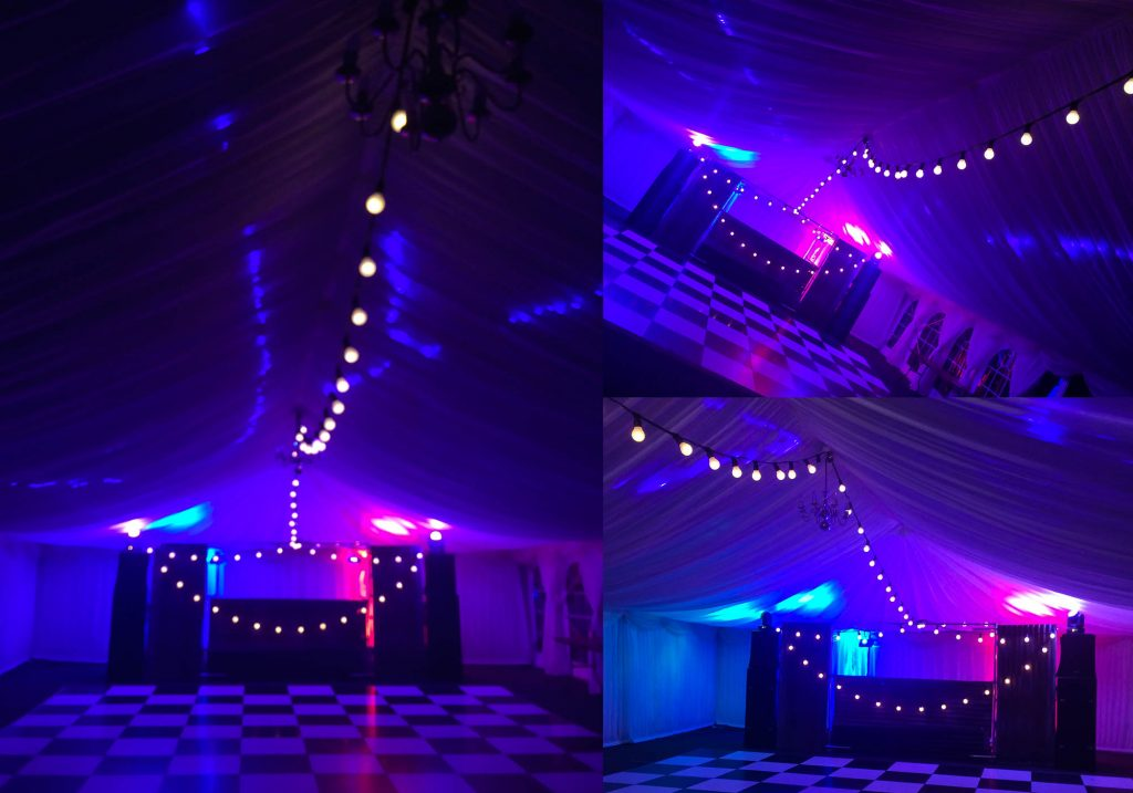 Festoon smiling face, Creative Event Lighting, Festoon